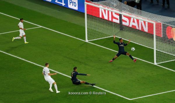 باريس سان جيرمان يفوز بثلاثية نظيفة على ريال مدريد في دوري ابطال اوروبا