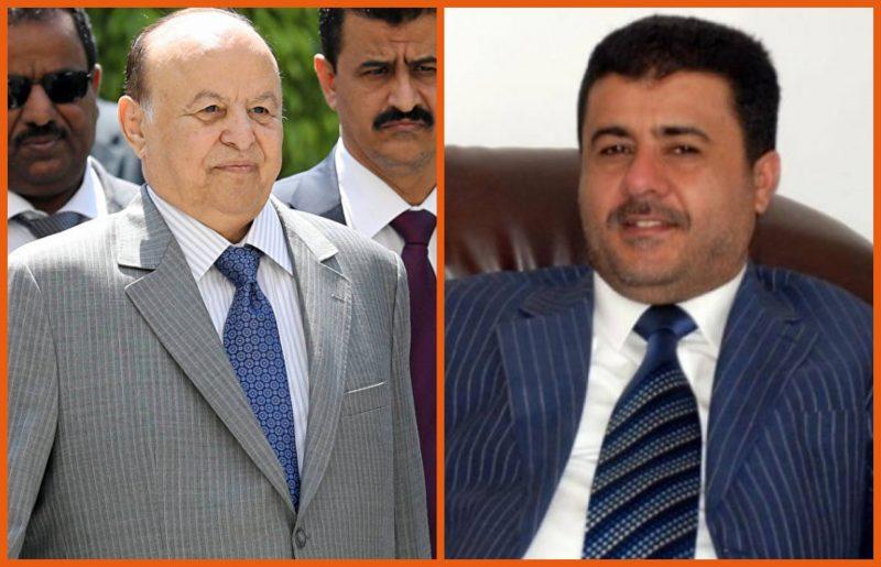 نص تهنئة رئيس الائتلاف الوطني الجنوبي للرئيس هادي بمناسبة ذكرى الوحدة اليمنية الـ31