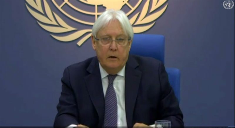 غريفيث يختتم زيارة إلى الرياض لمناقشة خطة الأمم المتحدة بشأن اليمن
