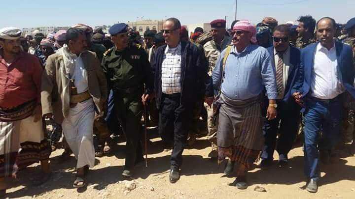 Al-Maisari and Al-Jubwani arrive in Shabwa