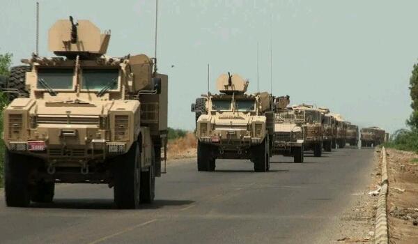 بعد إعلان هام للتحالف العربي.. قوات سعودية ضخمة تصل ميناء الحاويات بعدن