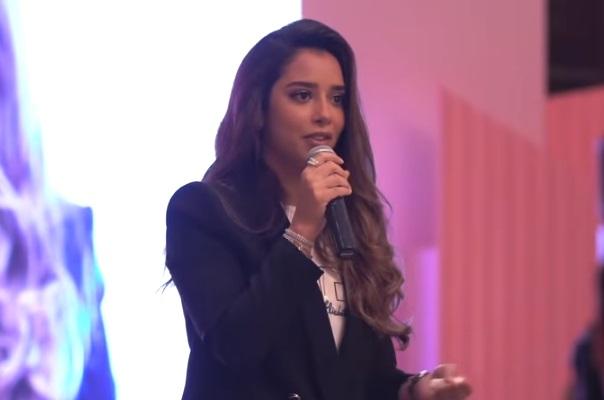 """بلقيس فتحي تكشف لأول مرة: انا سيدة أعمال وأدير شركة خاصة برفقة زوجي """"فيديو"""""""