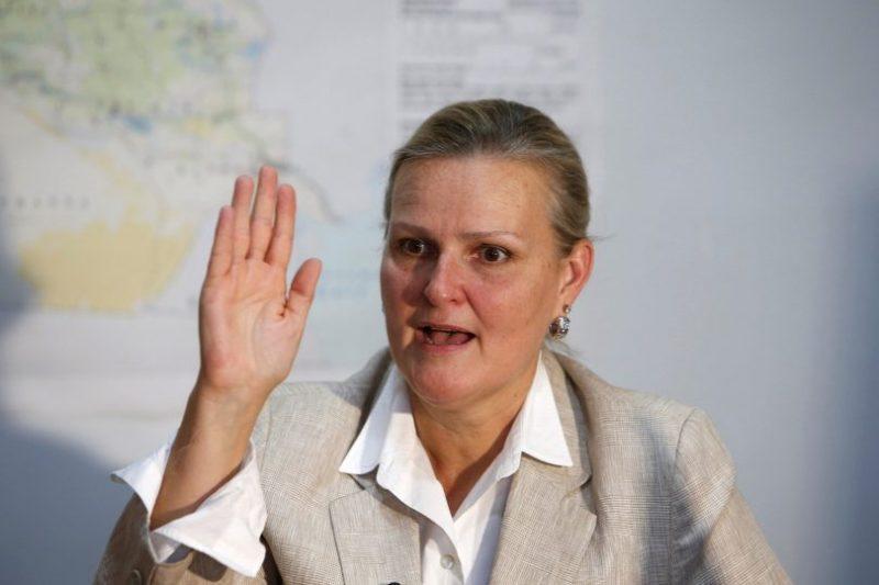 """ليزا غراندي.. استهداف مستشفى اطباء بلا حدود في المخاء """"أمر صادم وغیر مقبول نھائیا"""""""