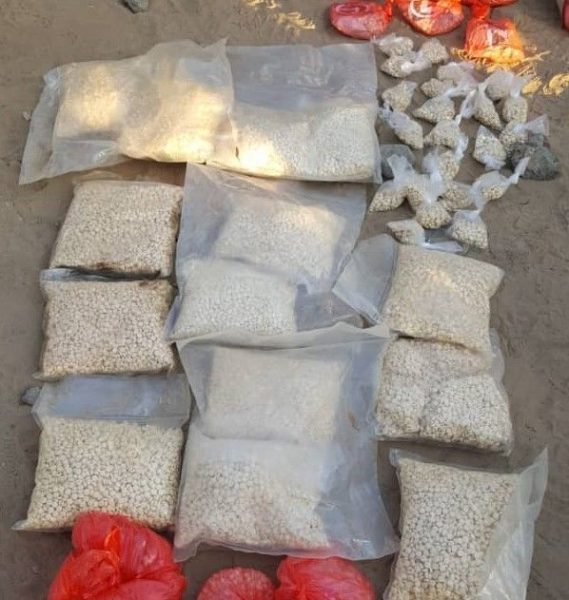 أجهزة الأمن في مأرب تضبط عدد كبير من حبوب المخدرات والحشيش خلال عشرة أيام