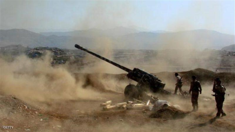 قوات الجيش تستهدف تعزيزات لمليشيا الحوثي في البيضاء