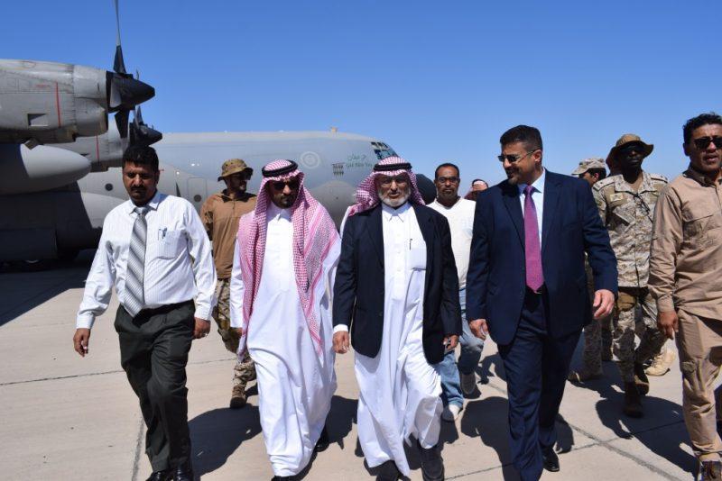 المطار ومستشفى عدن من أولويات مهامه.. فريق من البرنامج السعودي للتنمية وإعمار اليمن يصل عدن