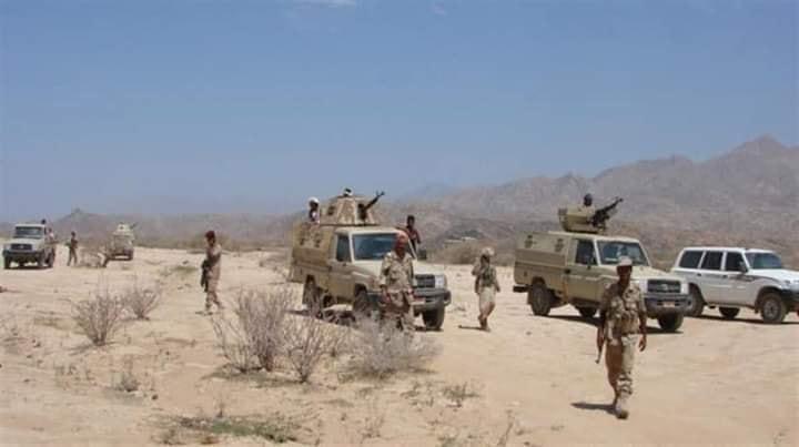 الجيش الوطني يشن هجوما في حرض بحجة ويسيطر على مواقع جديدة