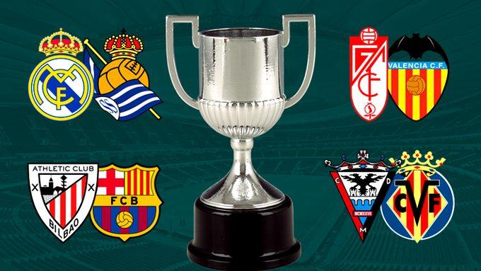 نتيجة قرعة ربع نهائي كأس مالك اسبانيا 2020 ومواعيد المباريات