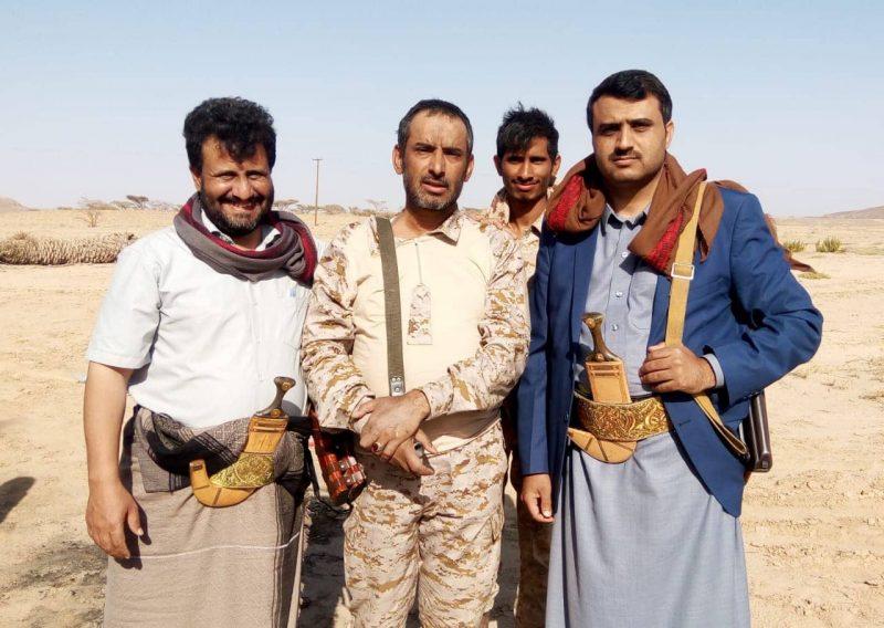 اللواء بن عزيز: عازمون على تحرير صنعاء ومليشيات الحوثي تورطت في جبهة نهم