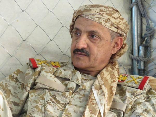 """قائد العسكرية السابعة """"جبران"""": المعركة التي يخوضها الجيش مصيرية والهدف تحرير كامل اليمن"""
