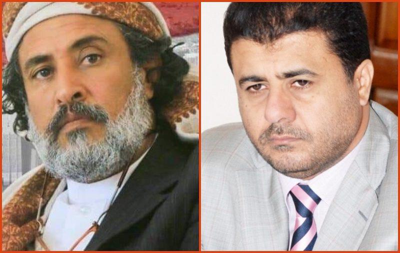"""الشيخ احمد العيسي يعزي محافظ الجوف """"امين العكيمي"""" في استشهاد نجله """"صادق"""""""
