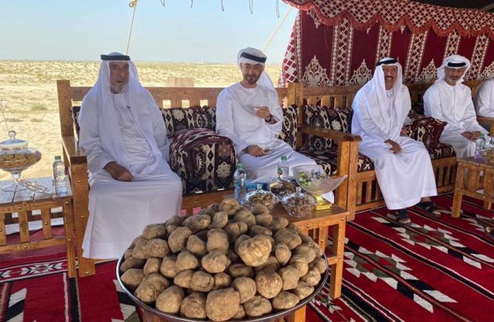 شاهد كيف ظهر رئيس الإمارات من جديد!