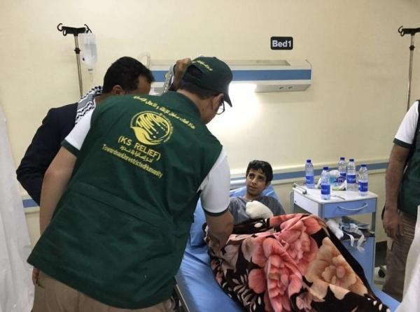 الإعلان عن توقيع عقود لعلاج 150 جريحًا ومصابًا في اليمن