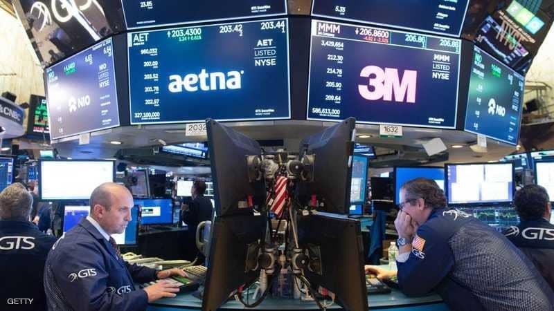 بعد تدهور اسعار النفط.. بورصة نيويورك تتعرض لأفدح خسارة يومية منذ 11 عاما