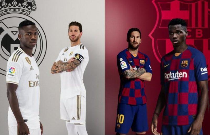 """انظار عشاق كرة القدم تتوجه اليوم إلى مبارة الكلاسيكو بين ريال مدريد وبرشلونة """"تشكيلة"""""""