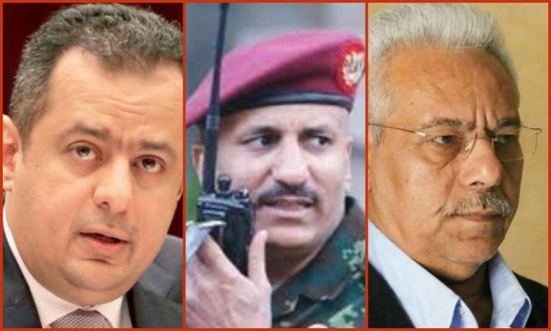 معين عبدالملك وعبدالله نعمان وطارق عفاش … مثلث الدمار على الشرعية