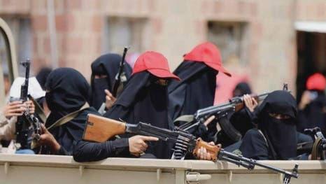 """بعد """"الزينبيات"""" المسلح.. مليشيا الحوثي تسعى لتشكيل فصيل """"الفاطميات"""".. تفاصيل خطيرة"""