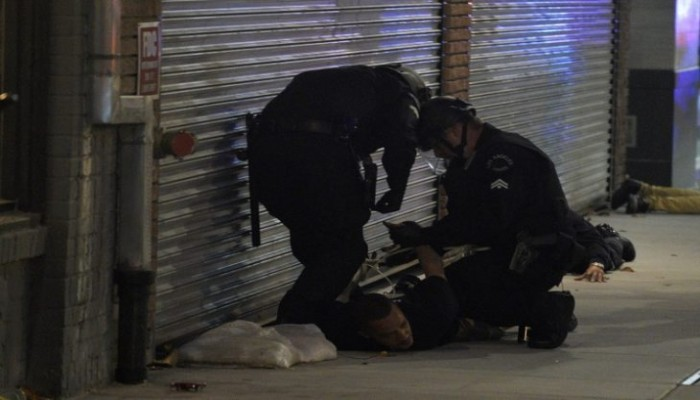 الشرطة الأمريكية تعتقل نحو 1400 شخص في 17 مدينة أمريكية خلال الاحتجاجات
