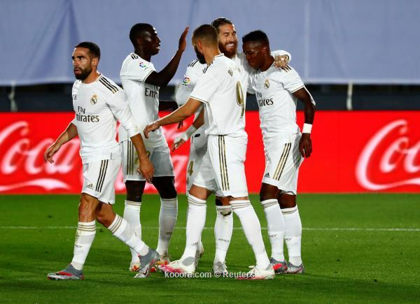 ريال مدريد يواصل تمسكه بالصدارة ويتجاوز ضيفه مايوركا في الدوري الاسباني