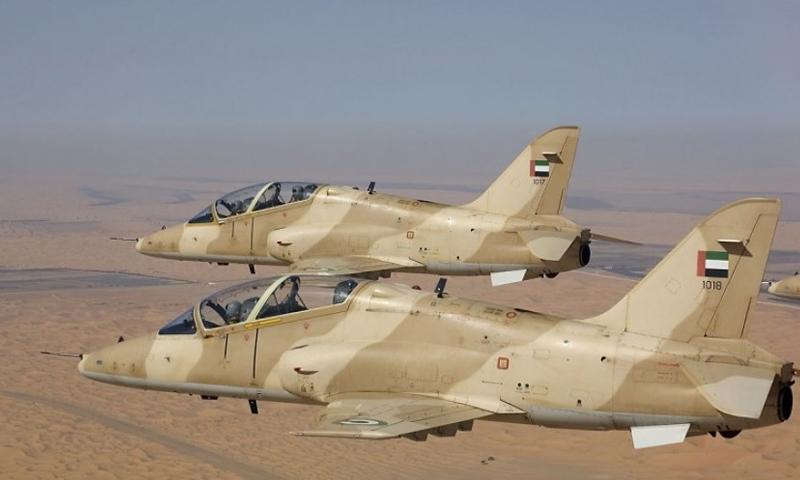 تسبب في حالة ذعر وخوف الطيران الإماراتي يفتح حاجز الصوت فوق مدينة عتق
