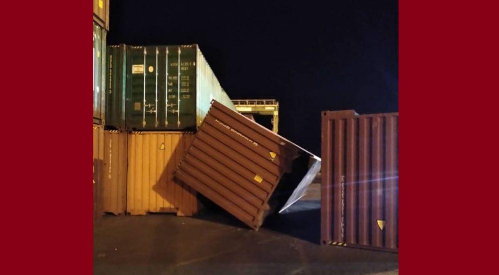 journalist reveals the presence of huge quantities of ammonium nitrate in port of Aden