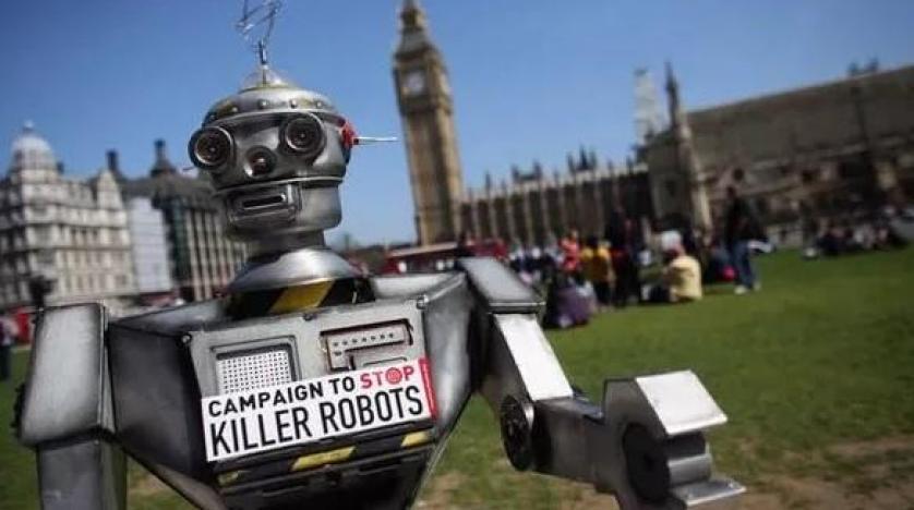 """تحذير """"هام""""… الروبوتات القاتلة قد تقضي على البشرية"""