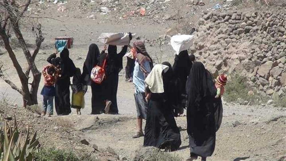 منظمة الهجرة تعلن نزوح نحو 1300 أسرة يمنية خلال أغسطس الجاري