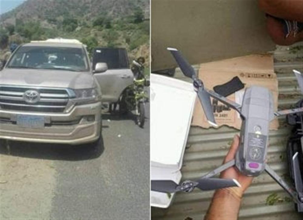 قوات الجيش تضبط شحنة طائرات مسيرة كانت في طريقها إلى الحوثيين