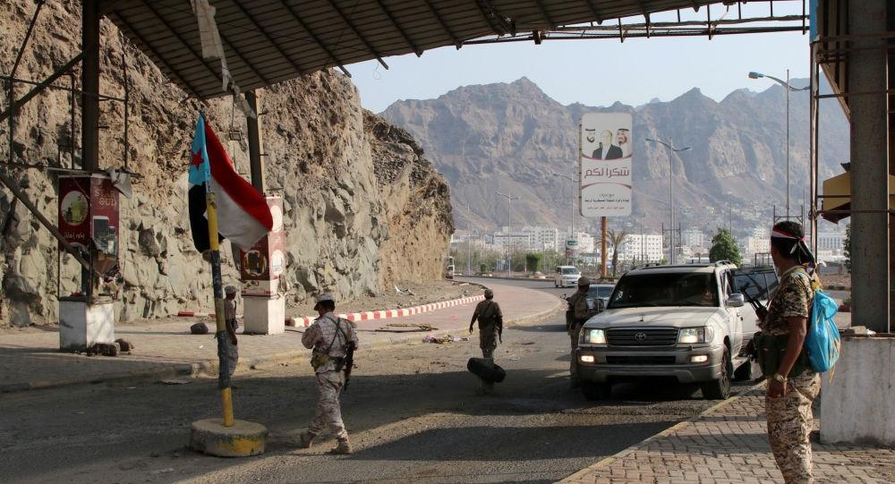 مقتل وإصابة 6 أشخاص بانفجار في نقطة أمنية في العاصمة المؤقتة عدن