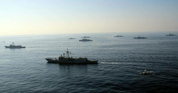 الكشف عن دخول 40 سفينة إيرانية إلى المياه اليمنية حول سقطرى
