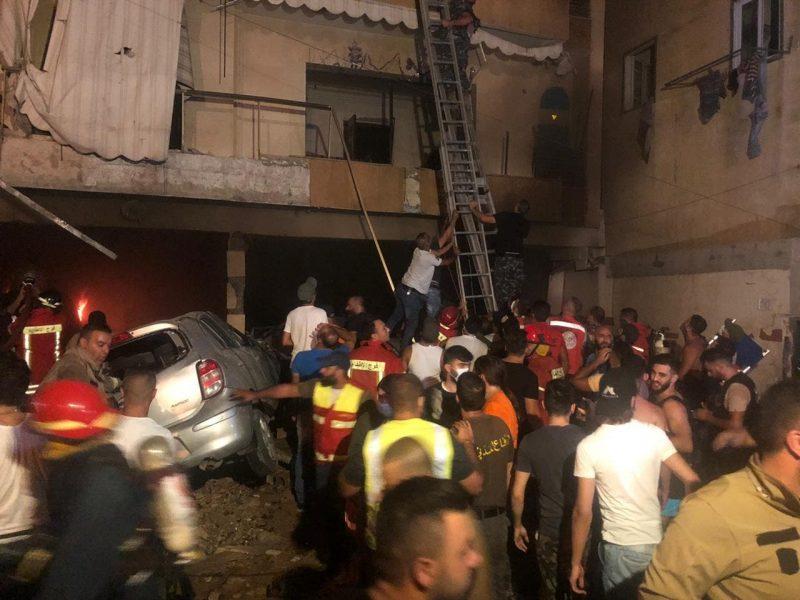 انفجار يهز ساحة أبو شاكر في العاصمة اللبنانية بيروت