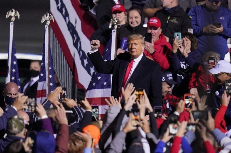 ترمب: الإنتخابات المقبلة ستكون الأهم في تأريخ أمريكا