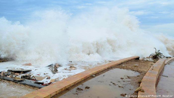 الارصاد تتوقع إعصار جديد تتأثر منه هذه المنطقة في اليمن!