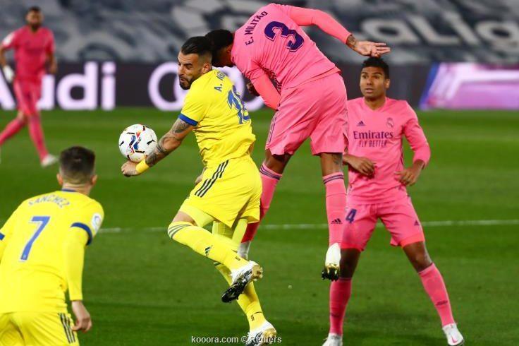 هزيمة قاسية لريال مدريد امام قاديش قبل مباراة الكلاسيكو