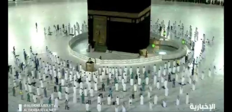 فجر اليوم.. السعودية تسمح للمواطنين والمقيمين بأداء الصلاة في المسجد الحرام