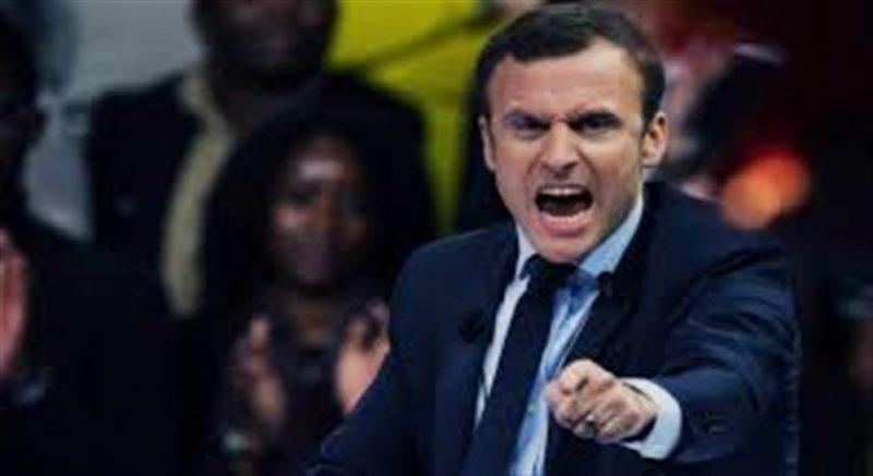 شاهد بالفيديو.. احد المواطنين يصفع الرئيس الفرنسي على وجهه جنوب شرق فرنسا