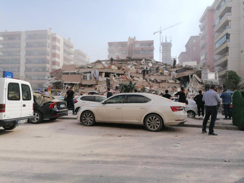 زلزال مدمر يضرب ولاية ازمير في تركيا