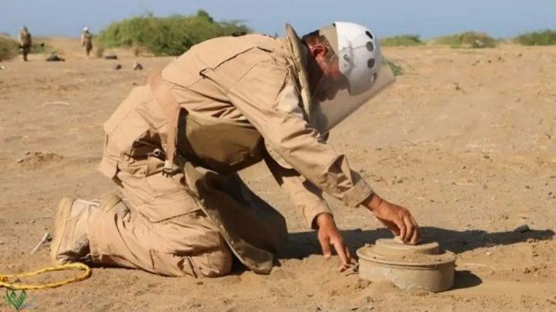 مسام ينتزع أكثر من 2100 لغم وذخيرة غير منفجرة خلال الأسبوع الرابع من مايو