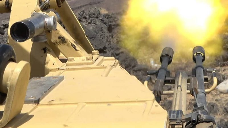 قوات الجيش تحبط محاولة تقدم لمليشيا الحوثي في مأرب ومصرع أكثر من 40 حوثيا