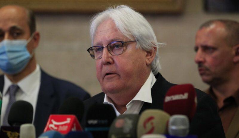 غريفيث: لا يمكن كسر دائرة العنف إلا من خلال تسوية تفاوضية