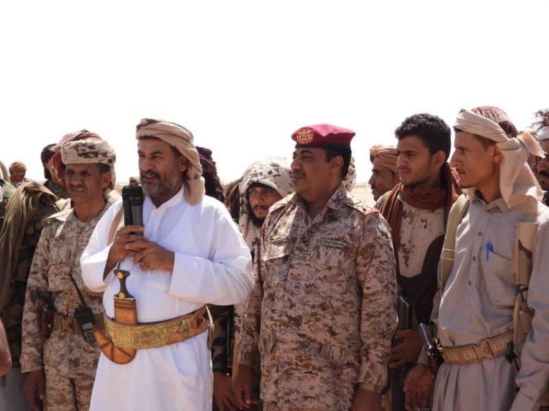 قبائل في الجوف تتوافد إلى جبهات المنطقة العسكرية السادسة لإسناد قوات الجيش